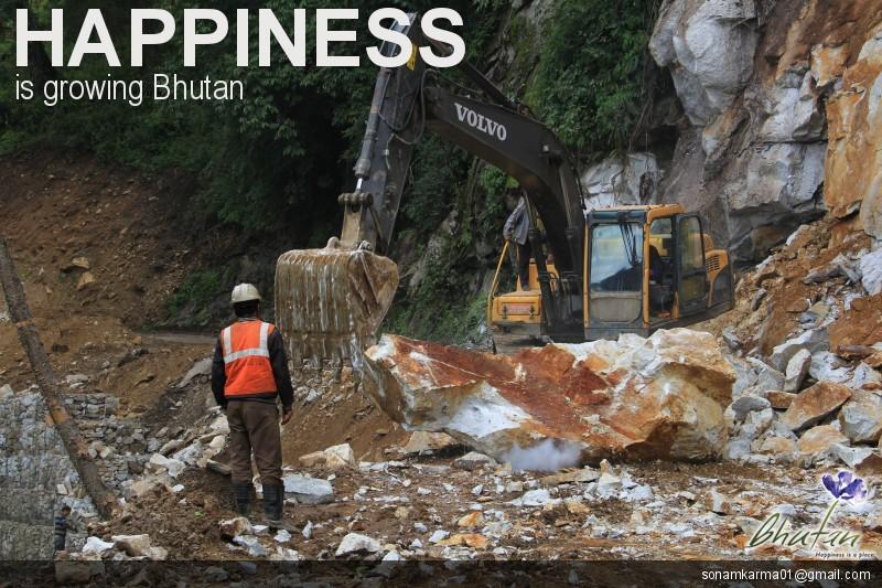 Happiness is growing Bhutan