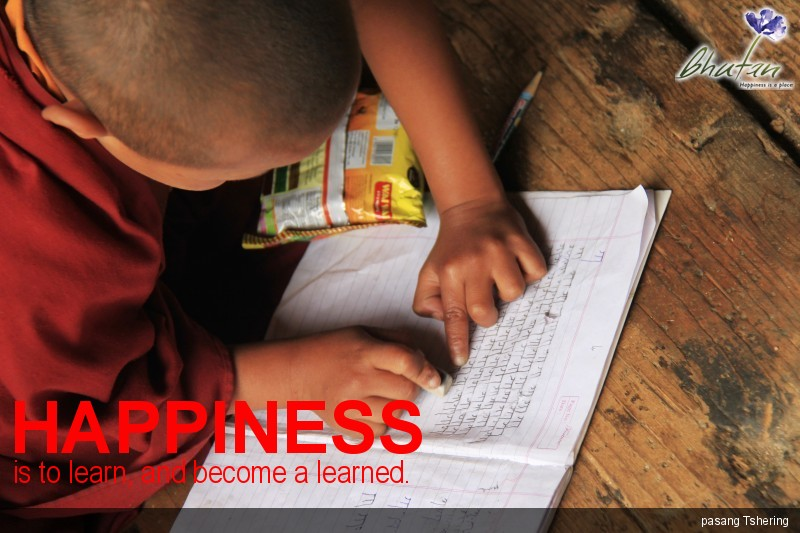 Happiness is to learn, and become a learned.