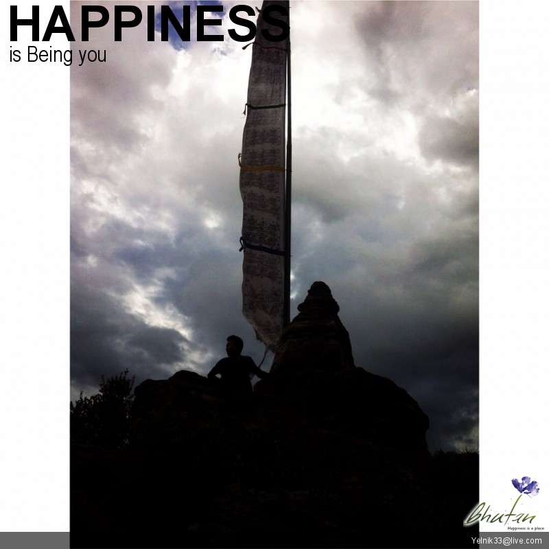 Happiness is Being you