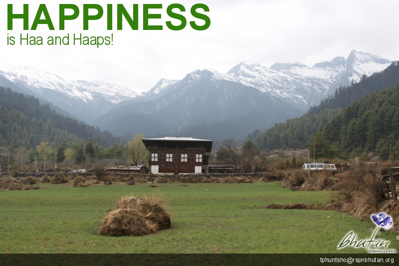 Happiness is Haa and Haaps!