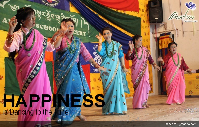 Happiness is Dancing to the Tune