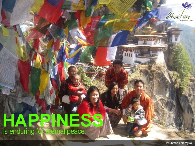 Happiness is enduring for eternal peace...