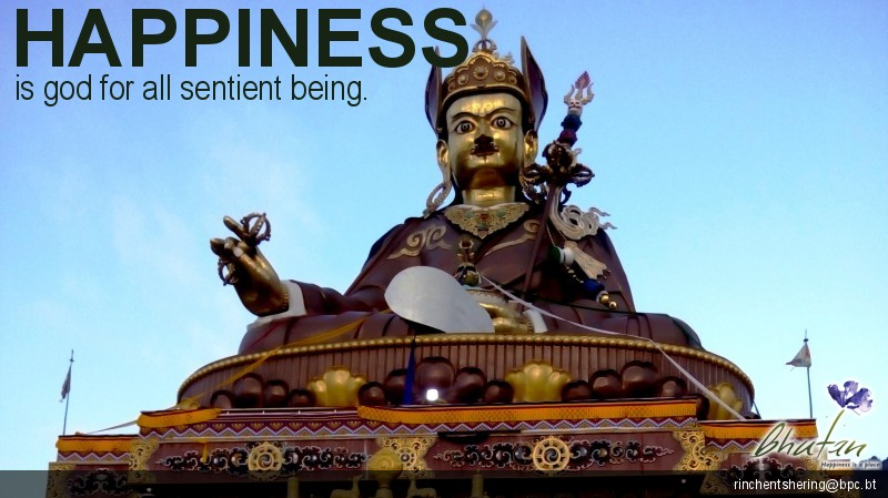 Happiness is god for all sentient being.