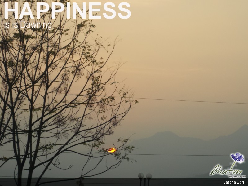 Happiness is is Dawning