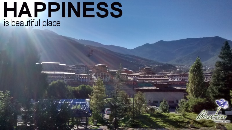 Happiness is beautiful place
