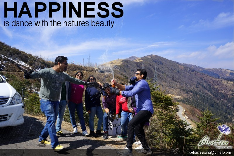 Happiness is dance with the natures beauty.