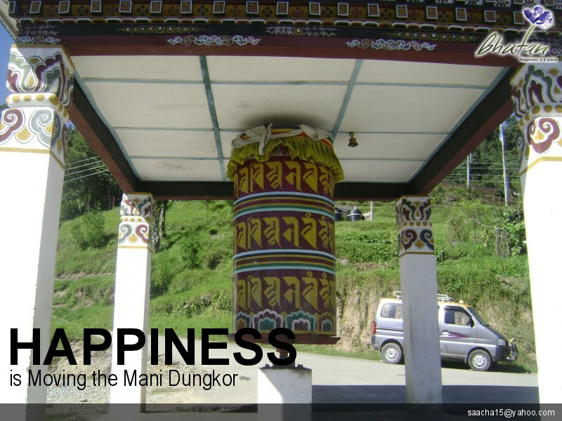 Happiness is Moving the Mani Dungkor