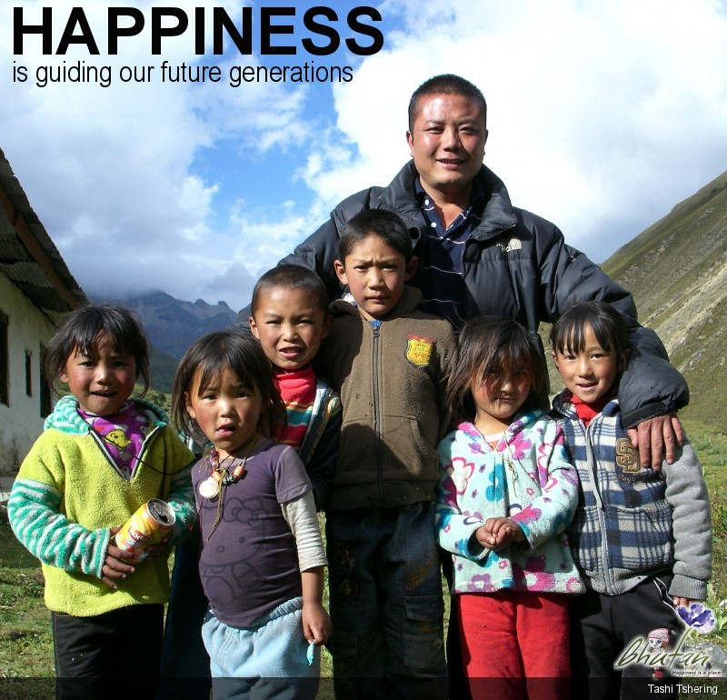 Happiness is guiding our future generations