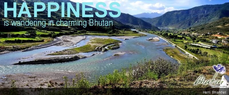 Happiness is wandering in charming Bhutan