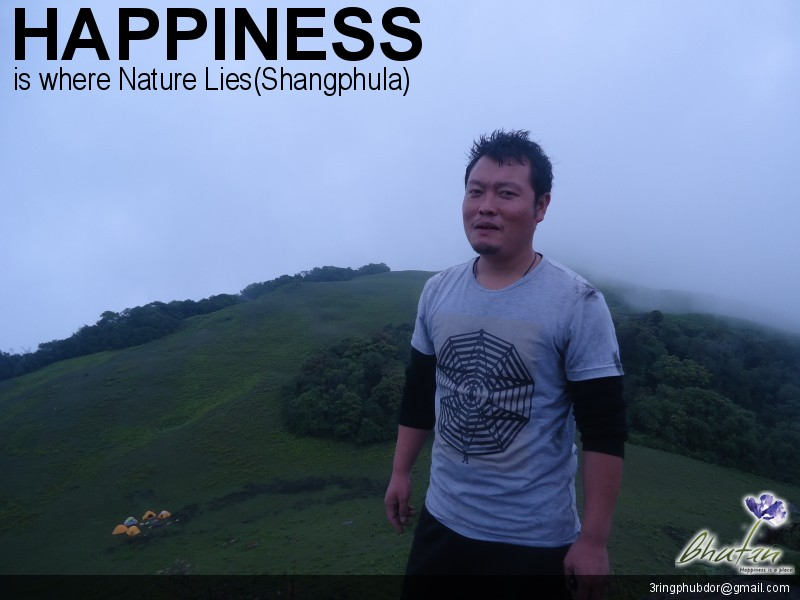 Happiness is where Nature Lies(Shangphula)