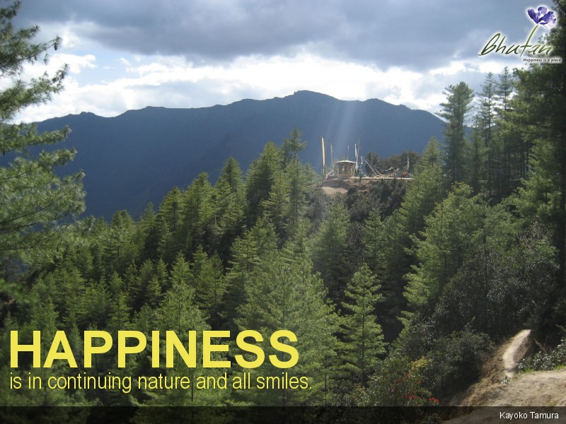 Happiness is in continuing nature and all smiles.