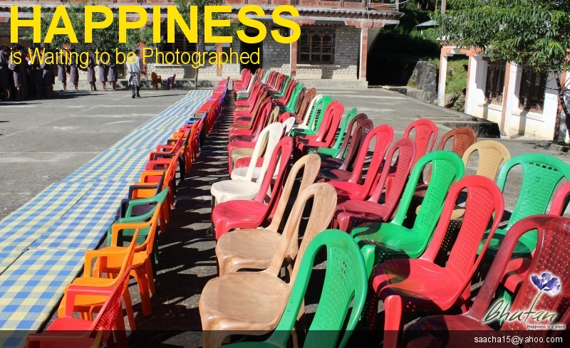 Happiness is Waiting to be Photographed