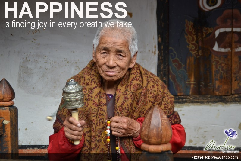 Happiness is finding joy in every breath we take