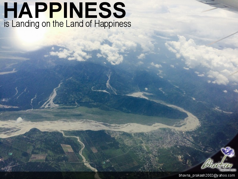 Happiness is Landing on the Land of Happiness