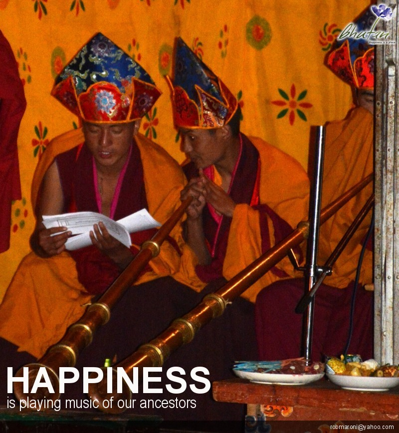 Happiness is playing music of our ancestors