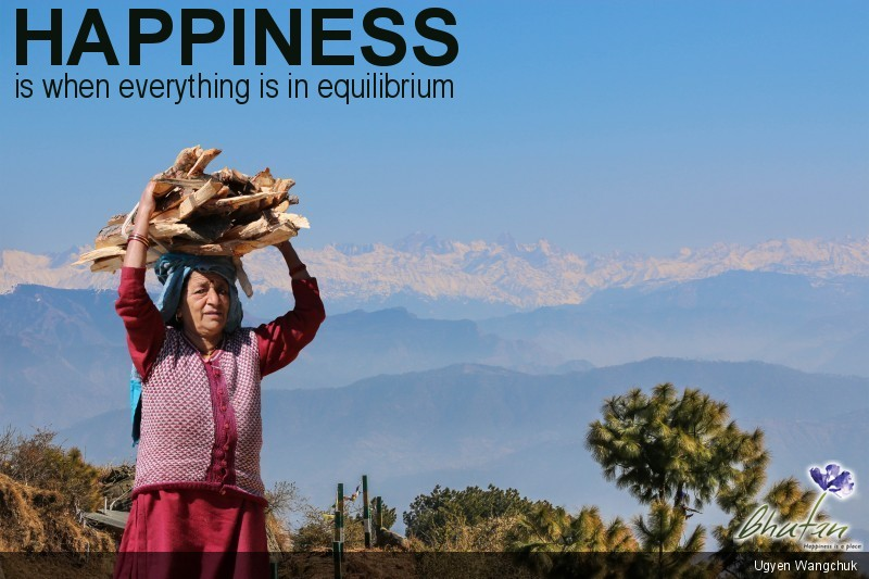Happiness is when everything is in equilibrium