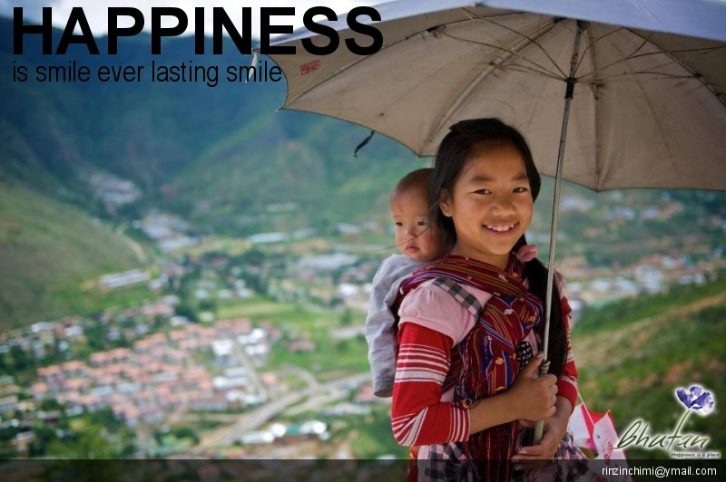 Happiness is smile ever lasting smile