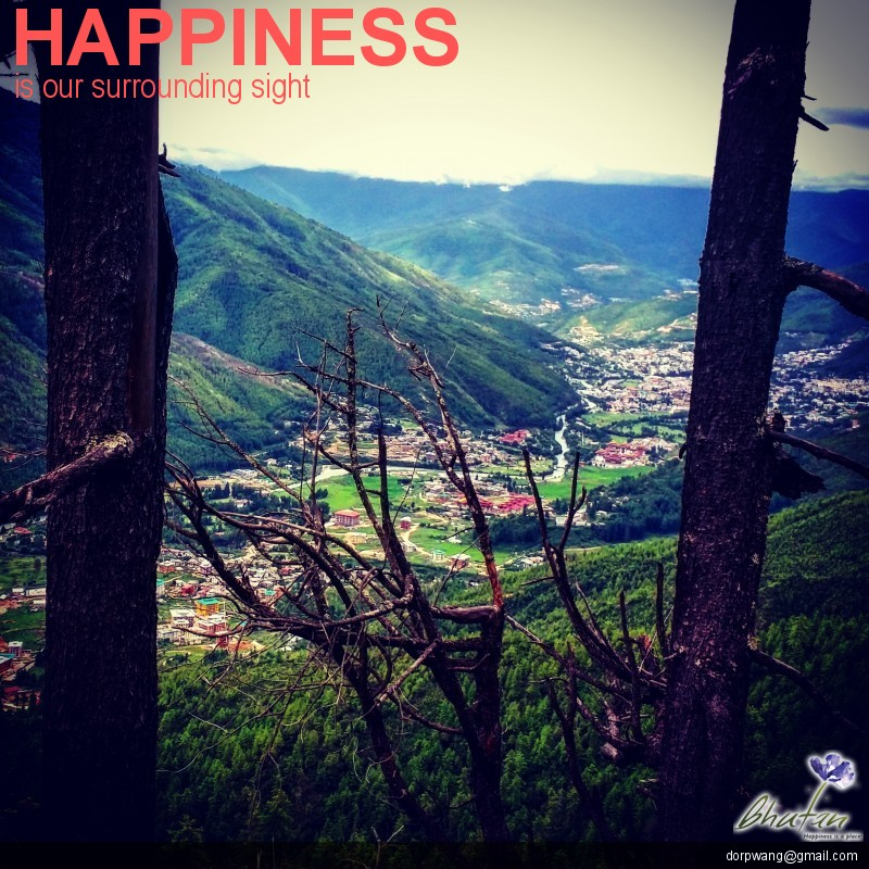 Happiness is our surrounding sight