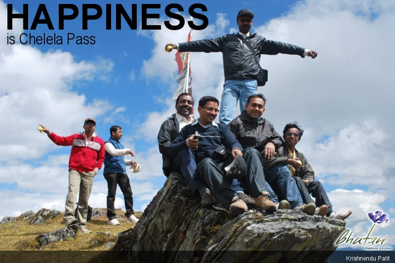 Happiness is Chelela Pass