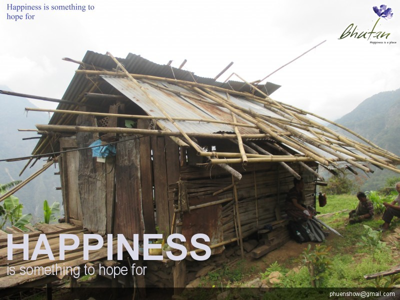 Happiness is something to hope for