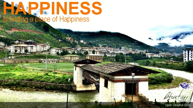 Happiness is finding a place of Happiness