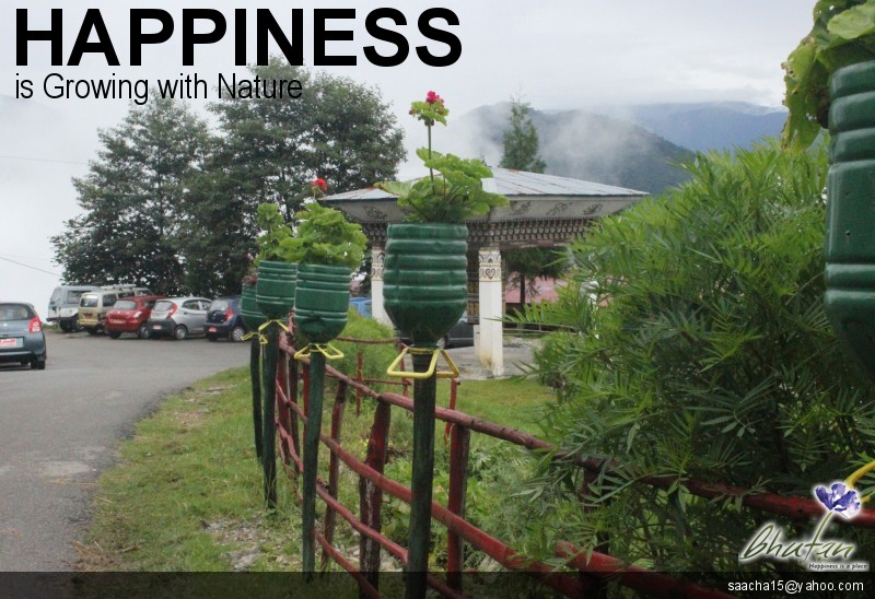 Happiness is Growing with Nature
