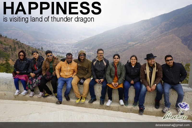 Happiness is visiting land of thunder dragon