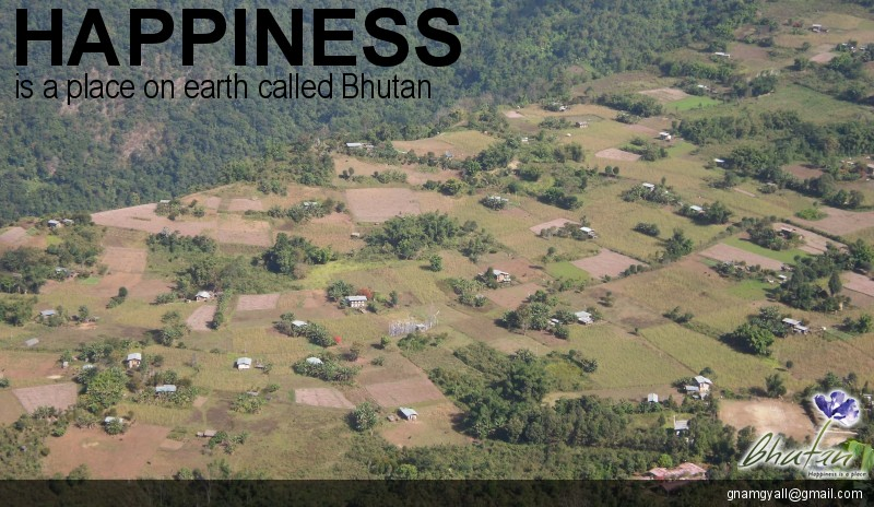 Happiness is a place on earth called Bhutan