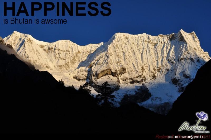 Happiness is Bhutan is awsome