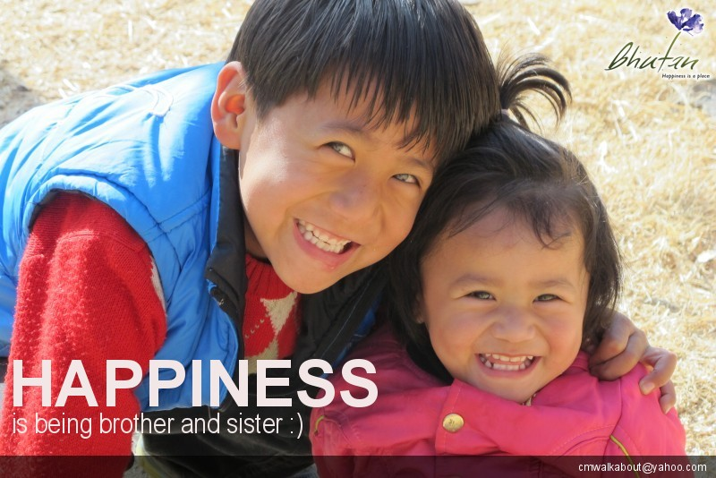 Happiness is being brother and sister :)