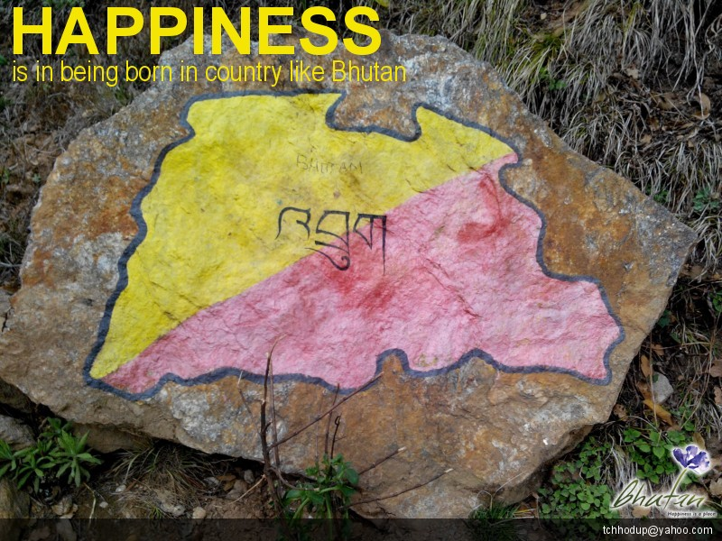 Happiness is in being born in country like Bhutan