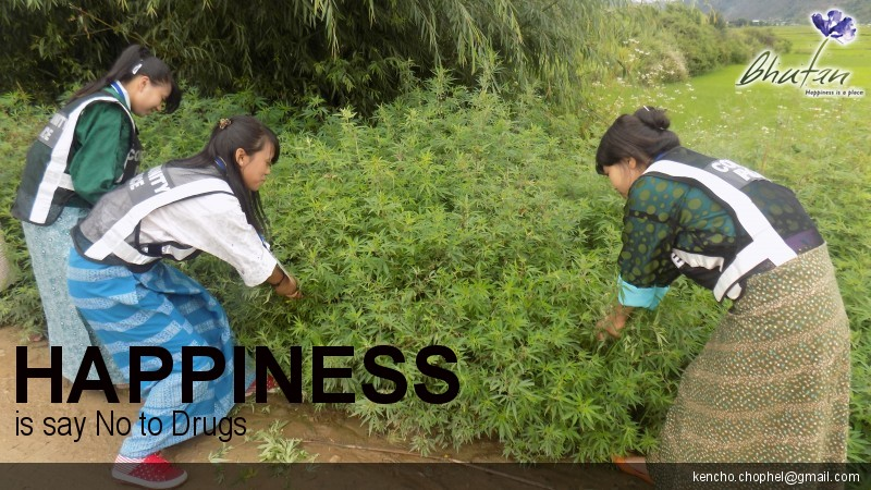 Happiness is say No to Drugs