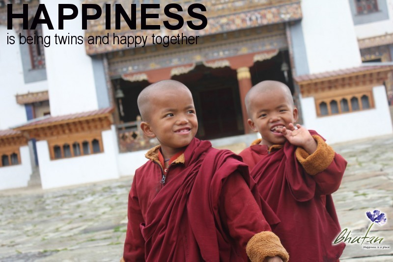 Happiness is being twins and happy together