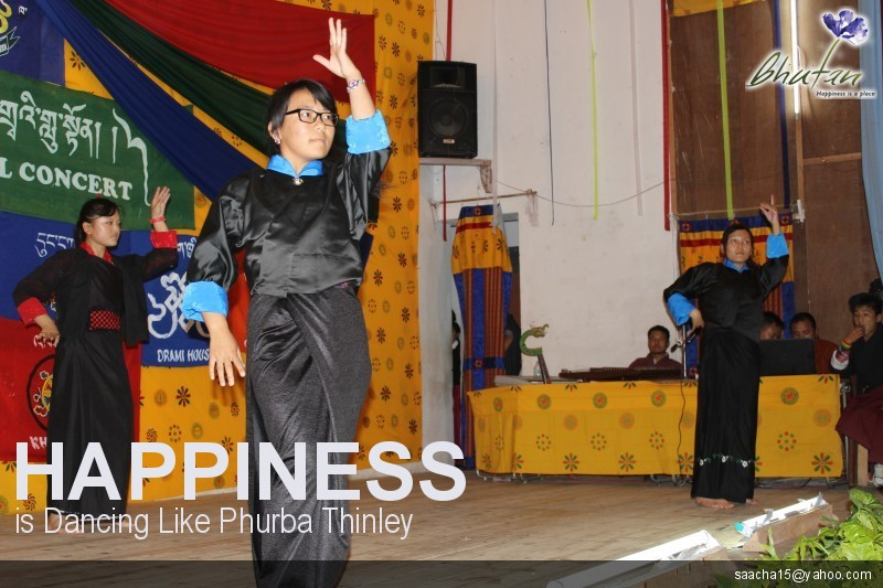 Happiness is Dancing Like Phurba Thinley