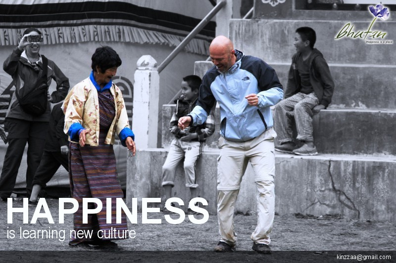 Happiness is learning new culture