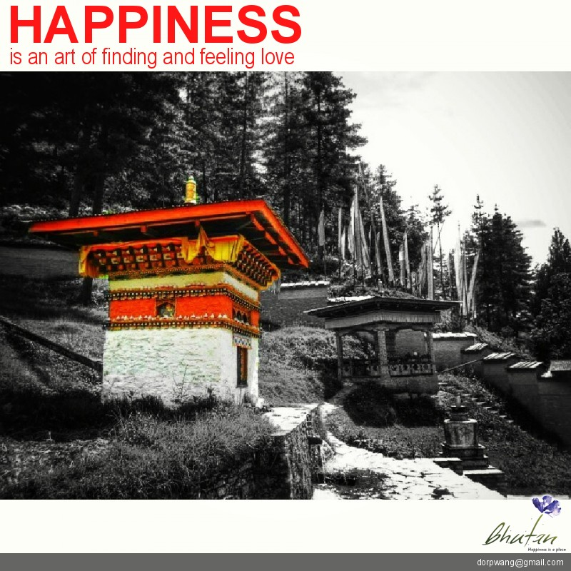Happiness is an art of finding and feeling love