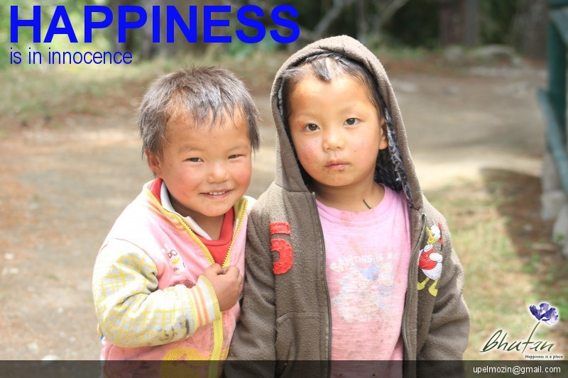 Happiness is in innocence
