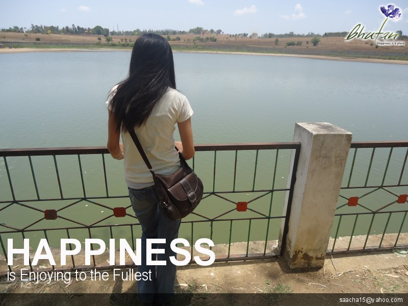 Happiness is Enjoying to the Fullest