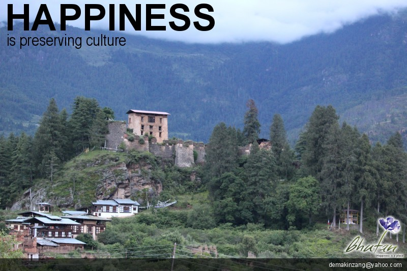 Happiness is preserving culture