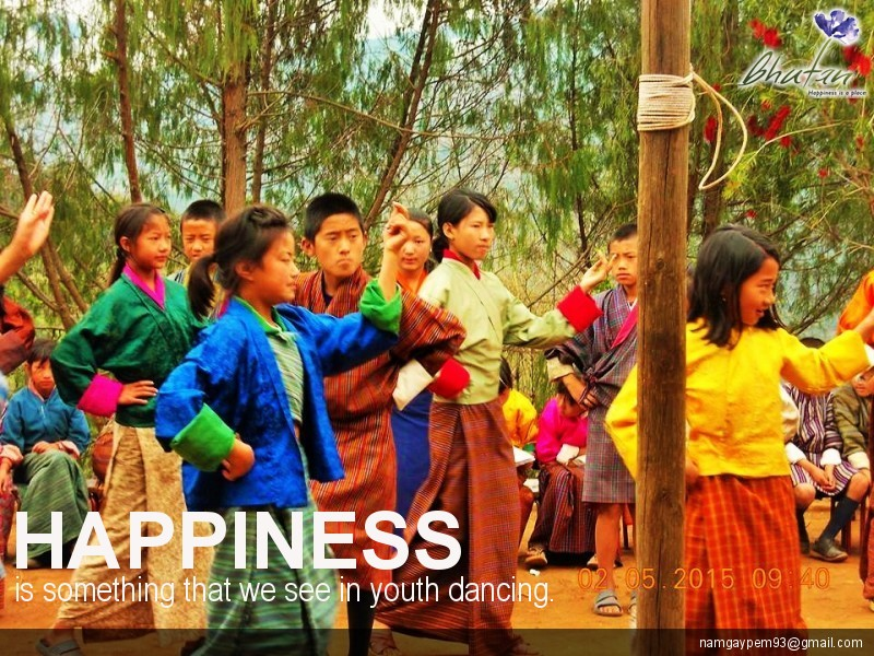 Happiness is something that we see in youth dancing.
