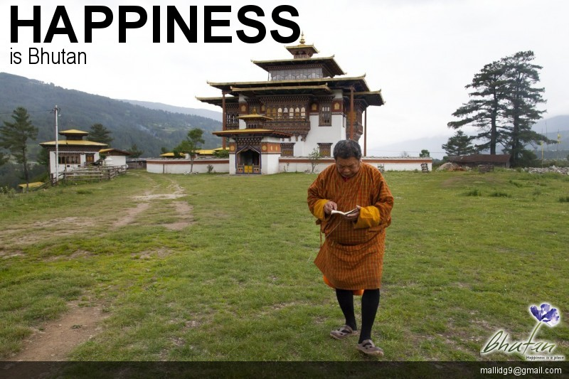 Happiness is Bhutan