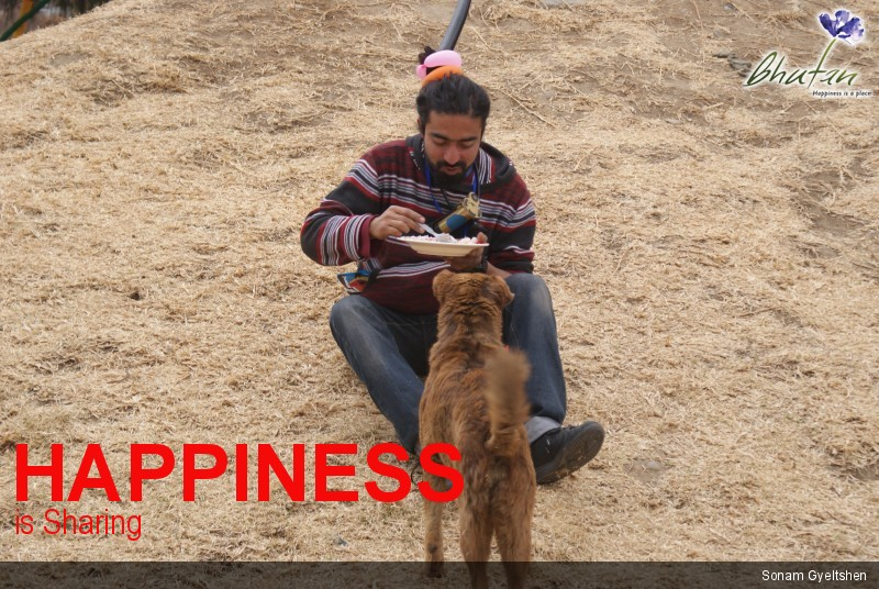 Happiness is Sharing
