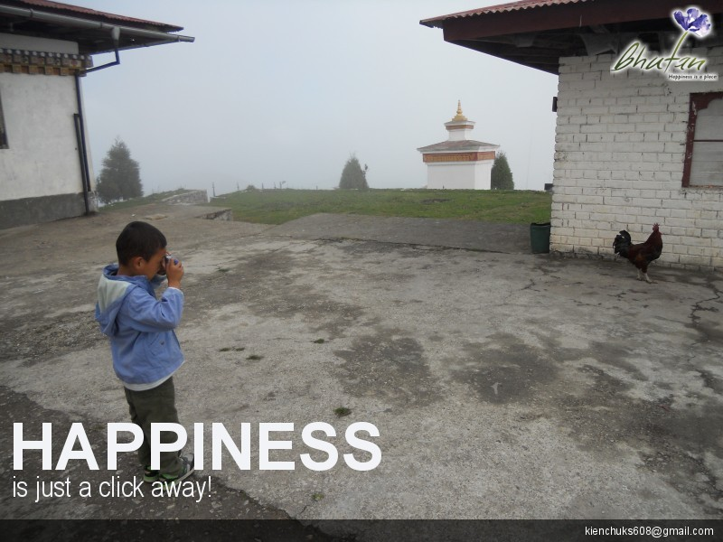 Happiness is just a click away!