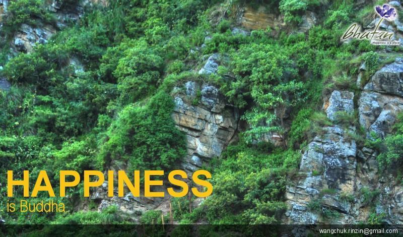 Happiness is Buddha