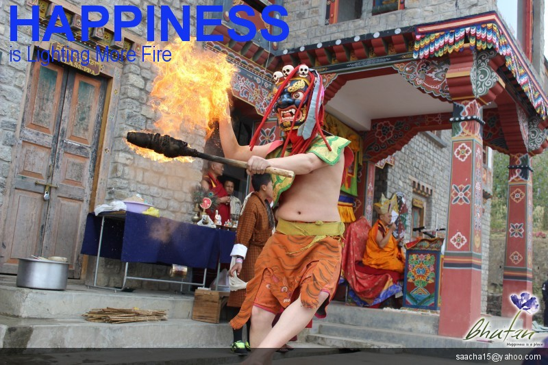 Happiness is Lighting More Fire