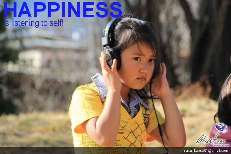 Happiness is listening to self!