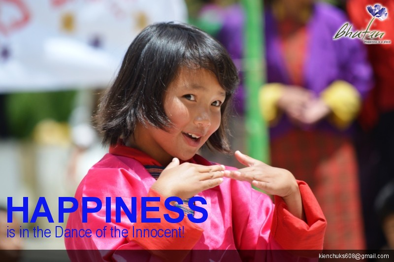 Happiness is in the Dance of the Innocent!