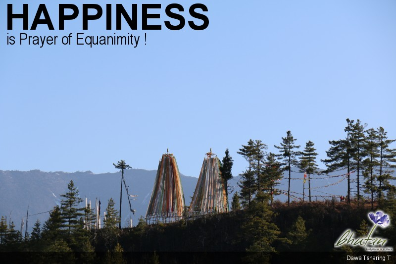 Happiness is Prayer of Equanimity !