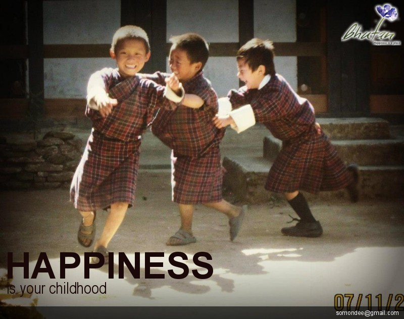 Happiness is your childhood