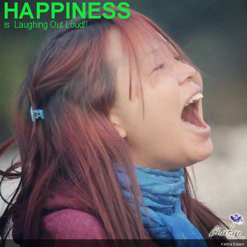 Happiness is  Laughing Out Loud!!